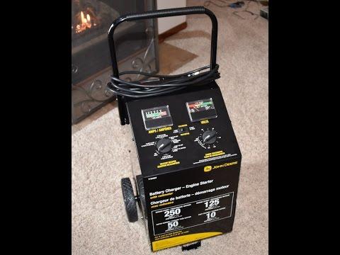 John Deere Battery Charger Amp Tester For Cars Trucks