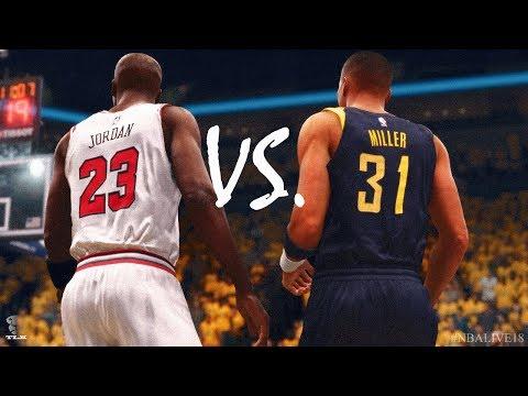NBA Live 18: Reggie Miller Vs Michael Jordan - RIVALS | Spotlight