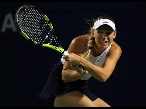 2017 Rogers Cup Second Round | Caroline Wozniacki vs Ekaterina Alexandrova | WTA Highlights