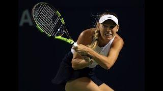 2017 Rogers Cup Second Round   Caroline Wozniacki vs Ekaterina Alexandrova   WTA Highlights