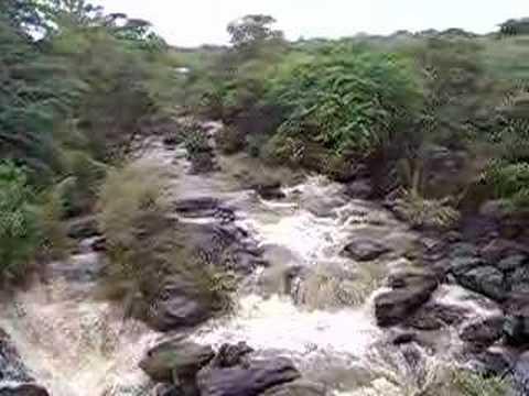 waterfall Awash Ethiopia