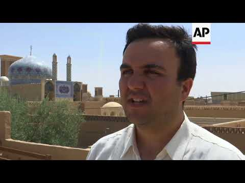Ancient architecture in old Persian city protects Iranians in heat wave