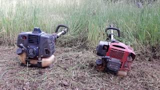 Diferenta dintre Motocoasa Kawasaki si cealata cu motor Emak
