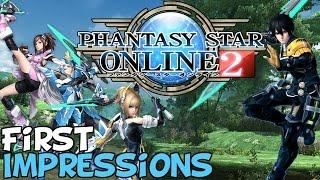 Phantasy Star Online 2 First Impressions