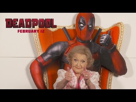 Betty White Provides The Only Review For 'Deadpool' That You'll Need