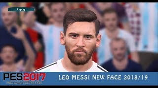 PES 2017 ● Leo Messi New Face ● World Cup 2018 ❤