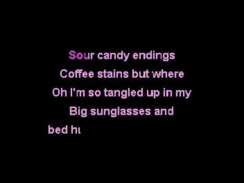 Sour Candy - Carly Rae Jepson [Karaoke]