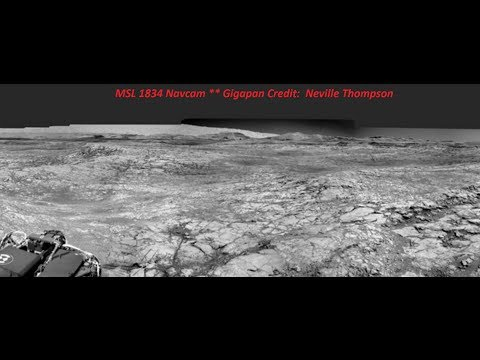 Large Structures On Martian Landscape! ~ 10 / 13 / 2017