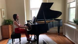 """""""Notturno"""" from 6 Pieces for Piano by Ottorino Respighi"""