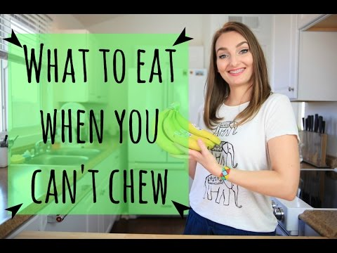 Healthy Braces Friendly Foods | What to Eat When You Can't Chew