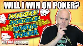 1st EVER 💸Double Bonus Poker Go BIG or Go BUST! | The Big Jackpot