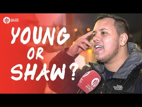 YOUNG OR SHAW? Burnley 0-1 Manchester United