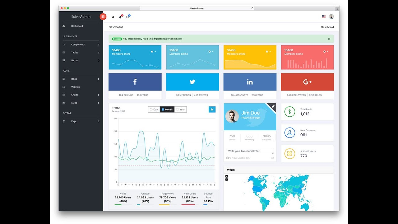 How To Free Bootstrap Admin Dashboard Templates Download Free With