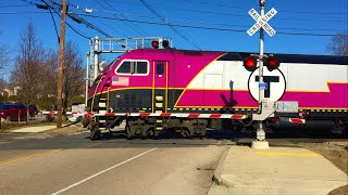 MBTA Trains Thru Franklin, MA