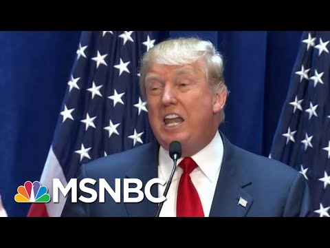 President Donald Trump Kicks Off Campaign Attacking Immigrants | The Beat With Ari Melber | MSNBC