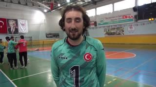 Goalball'da hedef Avrupa Şampiyonası