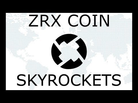 ZRX coin jumps 20% with Coinbase Launch!! 0x coin