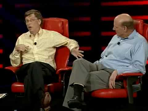 D6: Bill Gates and Steve Ballmer Condensed Chat 1