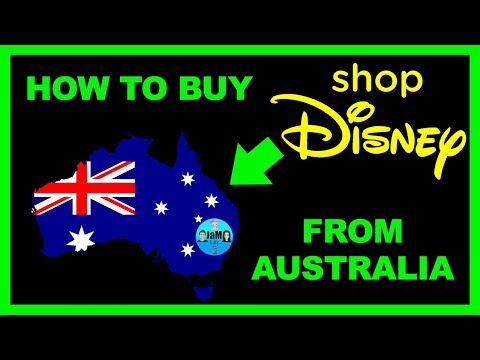 How To Buy From Shop Disney In Australia, And Get Delivery Before Christmas. 😀👍😀👍🎅🎄🎁