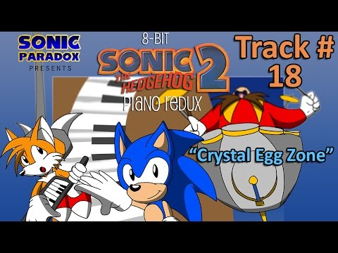 8-Bit Sonic 2- Piano Redux - #18 - Crystal Egg Zone