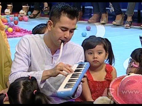 Raffi Ahmad Tebak Lagu Bareng Anak-Anak Pakai Pianika - dahSyat 19 July 2014