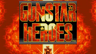 [Full GamePlay] Gunstar Heroes (Normal Mode) [Sega Megadrive/Genesis]