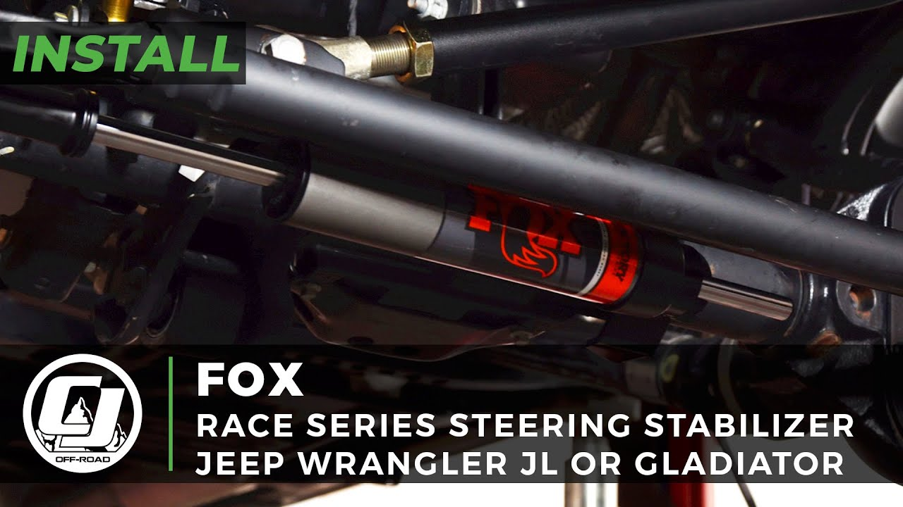 2018-2021 Jeep JL or  Gladiator Install | FOX Race Series Steering Stabilizer