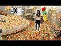 Room Covered in Squishies Prank on Little Sister..2,000+ SQUISHIES