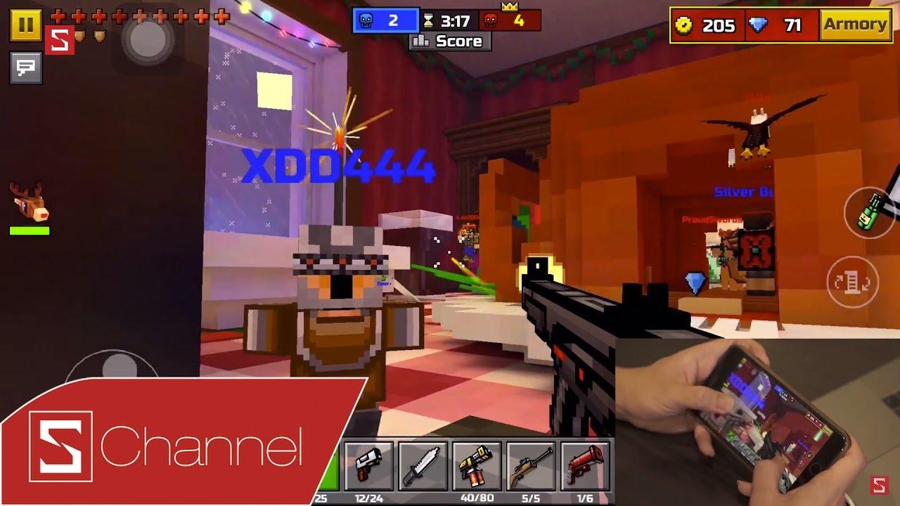 Schannel - Pixel Gun 3D: Tựa game bắn súng FPS đồ họa 8-bit siêu nhắng mà  Tân Một Cú cực ghiền!