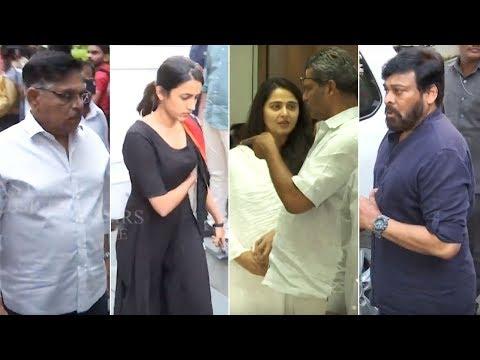 TFI Celebrities EXCLUSIVE Visuals From Kodi Ramakrishnas House | Manastars