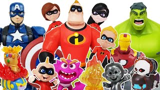 Incredibles 2, Avengers Go~! Ben 10, Hulk, Iron Man, Spider-Man, Thor, Captain America, Thanos