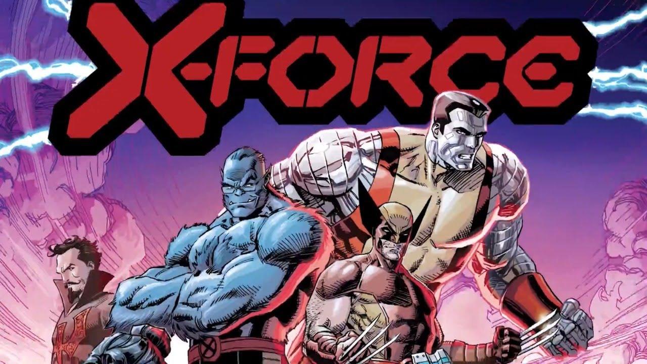 X-FORCE #1 Launch Trailer | Marvel Comics - YouTube
