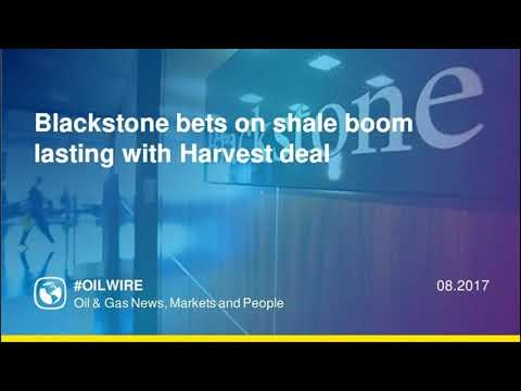 Blackstone bets on shale boom lasting with Harvest deal