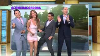 Two Mexican Weather Girls Dancing In Tight Dresses Yanet Garcia Tak...