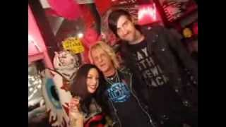 Megan Massacre and Erik von Gutenberg in the Trash & Vaudeville Store NYC
