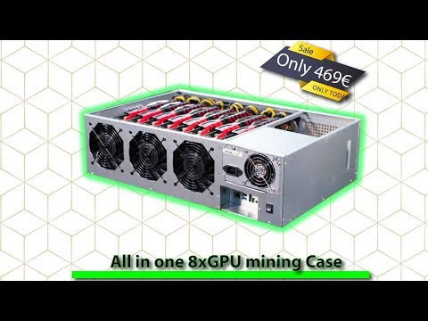 ♨️ MineBox8 All In One Gpu Mining Case | Mining Rig Build 🧰 2019