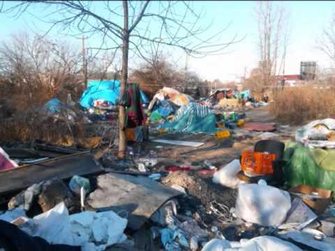 & Tent city Camden Jan 7 2014 - YouTube