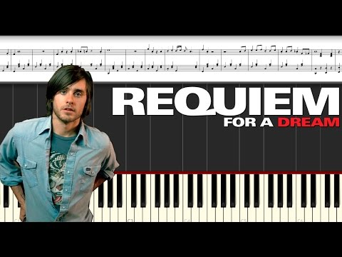 Requiem For A Dream. Piano Tutorial