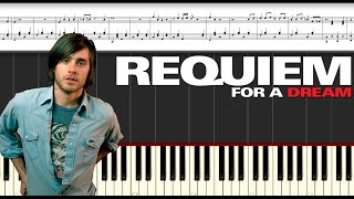 Requiem for a Dream. Piano tutorial