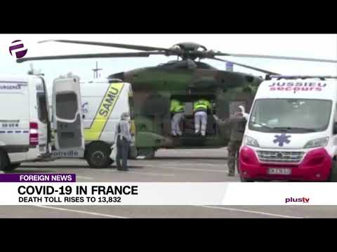 Covid-19 In France: Death Toll Rises To 13,832