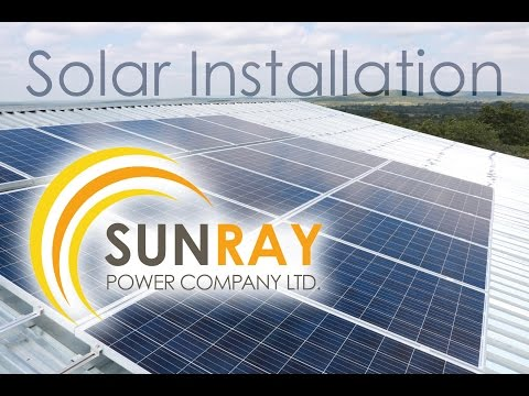 sunray-power-company---esther-school-installation