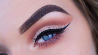 Cut Crease Eye Makeup Tutorial   ABH Modern Renaissance