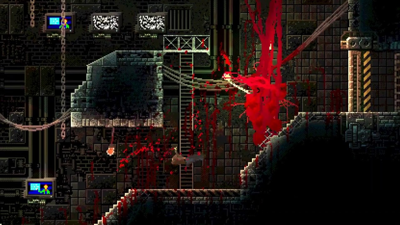 Gory New Horror Game Carrion Lets You Play As The Monster