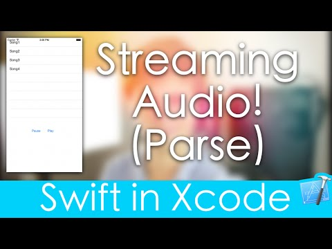 Streaming Audio! (Swift in Xcode : Parse) - YouTube