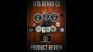1776 Beard Co Product Review {Beard Oil and Balm} All men are created equal...all beards are not!