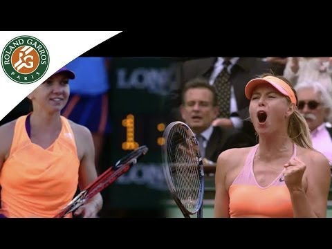 Sharapova vs. Halep - Preview of the 2014 French Open Women's final