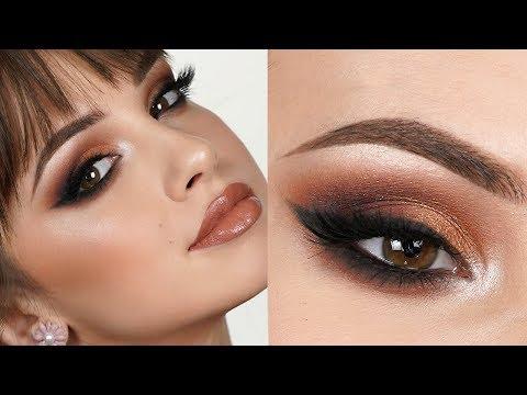 EXTRA GLAM Makeup Tutorial | Bold Smokey Eye - YouTube