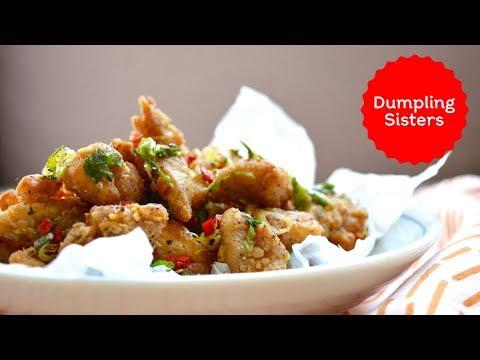 Salt And Pepper Popcorn Chicken #ad   DUMPLING SISTERS