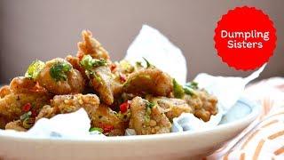 Salt and Pepper Popcorn Chicken #ad | DUMPLING SISTERS
