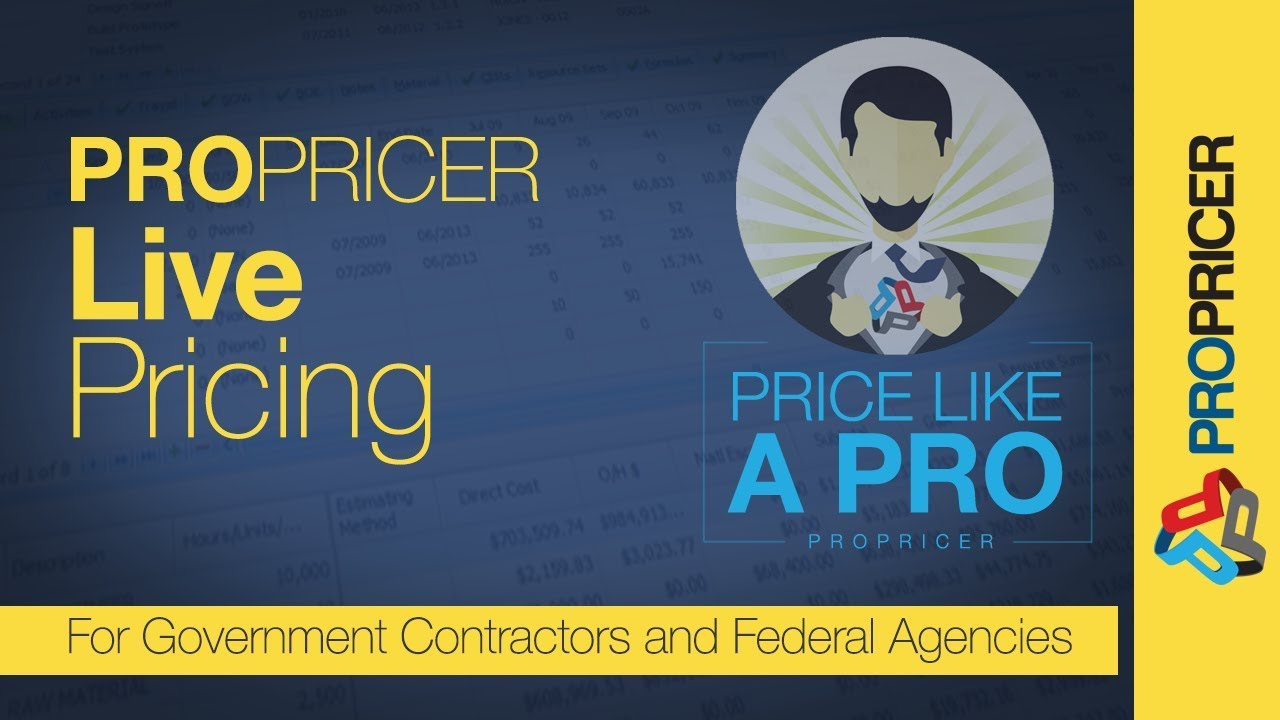 Price Like a Pro: PROPRICER 9 Live Pricing - YouTube